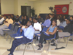 Del State University students at Getting Hired 101
