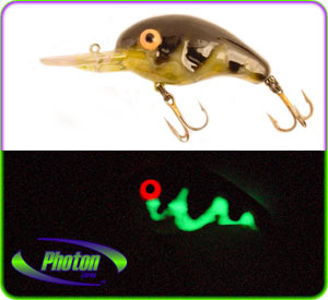 Fish worldwide warned of the dangers of extreme glow for Glow in the dark fishing lures