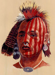 Wequash: an historical Native American, painting by David Wagner