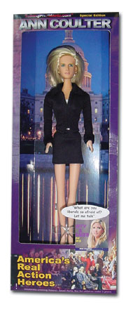 Talking Ann Coulter Doll Top Seller Over Holiday Weekend
