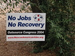 Rescue American Jobs Yard Signs