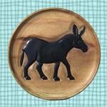 Dark Donkey Plate
