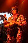 Drummer Prairie Prince in Peace Suit