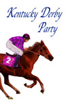 Day at the Horse Races - Kentucky Derby Party Invitation