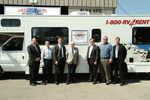 Cruise America/Thor/Four Winds Execs w/ 25,000th RV