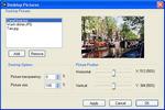 Screenshot 5 - Desktop Pictures Dialog