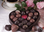 Edible Heart With Truffles