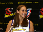 Diana Taurasi of the WNBA Phoenix Mercury Fields Questions