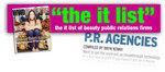 """WWD Beauty Biz """"The IT List"""""""
