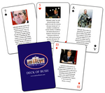 The Deck of Bush: 54 Reasons NOT to re-elect the President Playing Cards