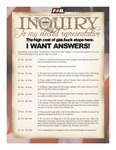 """Inquiry"" Page 1 For viewing only."