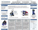 New Home Page for Air Compressors Direct.com
