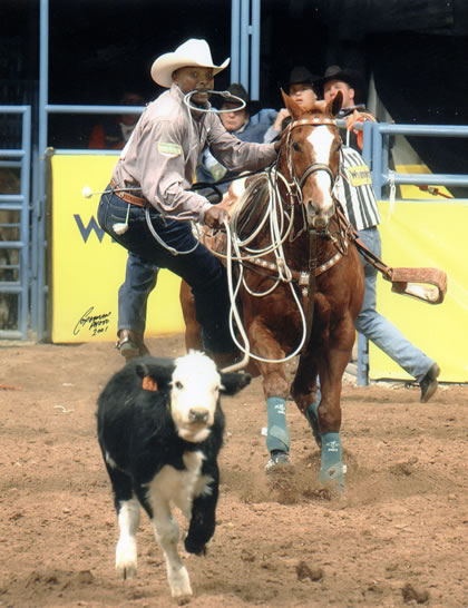 Six Time World Champion Calf Roper Fred Whitfield Joins