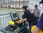 Fifteen Police, Fire, Coast Guard Auxiliary, Sea Scouts, Rescue, and EMS teams had the opportunity to pilot the new VideoRay Pro at the Bear Search and Rescue Foundation's Marine Training event in New York City.