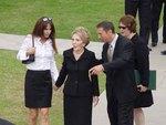 Nancy Reagan, Ron Reagan Jr. & Patti Davis