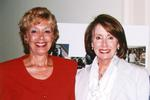 Ellen Kaplan, president Mass.-based consulting and coaching firm, Possibilities@Work, (left) met with Rep. Nancy Pelosi (D-Calif.) during the Democratic Small Business Forum in Washington, D.C.