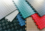 Tuff-Seal Interlocking Floor Tiles-Colors