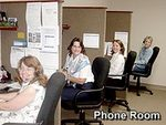 Customer Relations Phone Room