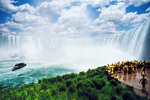 Journey behind Niagara Falls