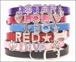 Bling! Bling! - Personalized Crystal Dog Collars