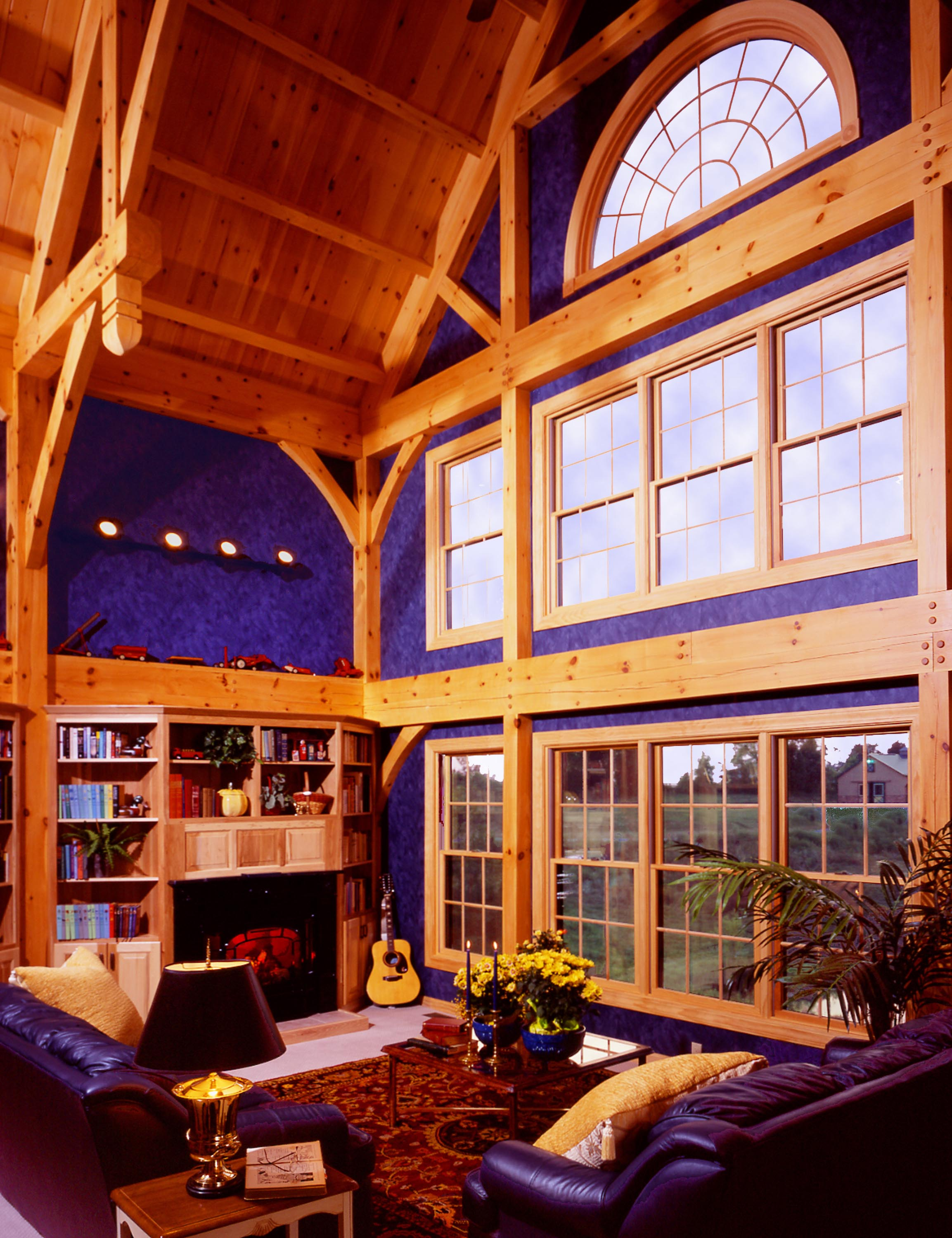 Timberframe Way By Dick Pirozzolo Covers This Unique Home