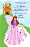 Princess Party Invitation - A Royal Birthday Party