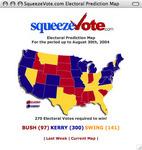 Electoral College Predictions (08/30/2004)
