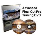 Advanced Final Cut Pro training DVD