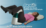 Backlife Machine and user during therapy