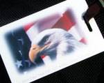Patriotic Luggage Tag