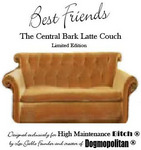 Best Friends Central Bark Latte Couch
