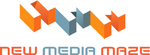 Logo: New Media Maze Logo