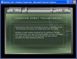 Screenshot: Splinter Cell - Pandora Tomorrow opening introduction