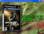 Screenshot: Splinter Cell - Pandora Tomorrow advert