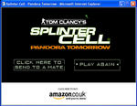 Screenshot: Splinter Cell - Pandora Tomorrow viral hook