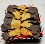 Carob-dipped-dog-cookies