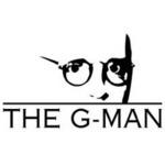 Logo for Scott G (recording artist The G-Man) and G-Man Music + Radical Radio.