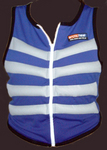 Blue Zip Cooling Vest