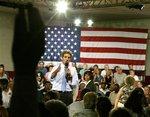John Kerry fields questions at the Zablocki Senior Center in Toledo, Ohio.