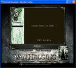 Image: Van Helsing Lycos game - end