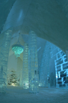 The Grand hall of Ice Hotel Quebec-Canada, just one part of its beauty.