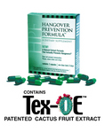 HPF Hangover Prevention Formula™ Contains Tex-OE™, the patented extract proven to prevent hangovers at Tulane University.