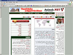 Screenshot of our Arabic Portal
