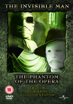 Creatives: Invisible Man / The Phantom of the Opera - Two Film, Double Disc, Collectors Edition
