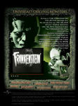 Creatives:  Monster Legacy MyMovies.net Microsite - Frankenstein