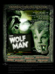 Creatives:  Monster Legacy MyMovies.net Microsite - The Wolfman