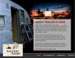 Screenshot: Trailer Player - Homepage