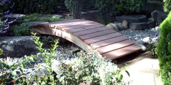 Marvelous Garden Foot Bridge In Modern Times8 Ft Garden Foot Bridge