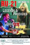 Legends and Prodigies November 13th
