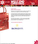 Screenshot: West End Christmas Website - Bond Street